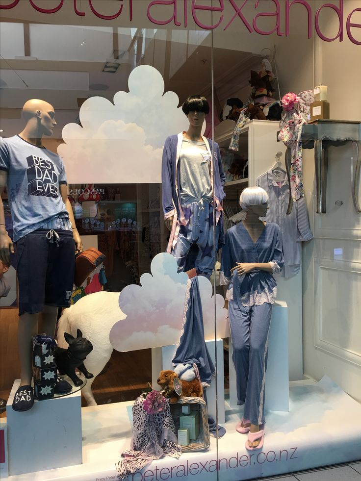 """PETER ALEXANDER, Sylvia Park Shopping Centre, Mt. Wellington, New Zealand, """"Super Slouch... The simple luxury of slipping into this season's sleepwear"""", uploaded/photo by Ton van der Veer"""