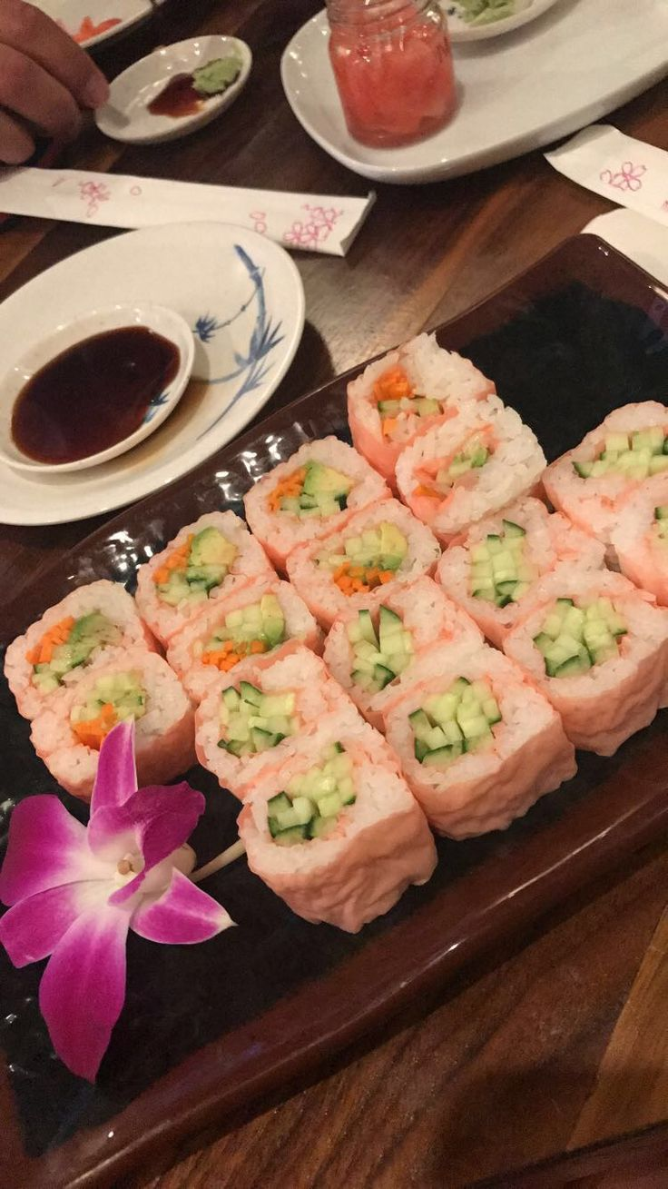 Is Chinese food such as sushi big in Lexington since Kentucky is landlocked?
