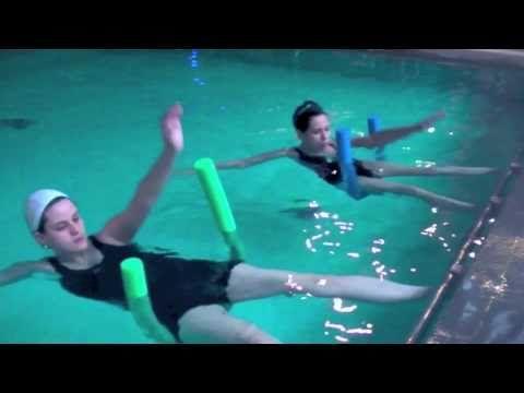 water pilates in Brazil