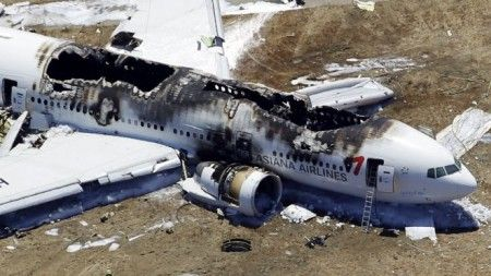 Asiana Airlines Flight 214: Cleared for Landing [Video]  Amazingly, 305 of 307 passengers survived the crash and more than a third didn't require hospitalization. Only a small number were critically injured. The two casualties may not have been directly caused by the crash; that's still inconclusive. The deaths, even still, were the first in the 18 years that the 777 has been in service.