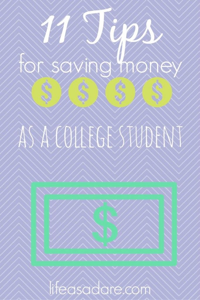 Money saving can be stressful in college, but there are so many little ways to spend smart! Here are some great tips for college students to save money!