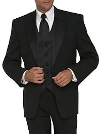 Zwart in 't pak! #trouwen #huwelijk #trouwpak #bruidegom www.njoyparty.nl