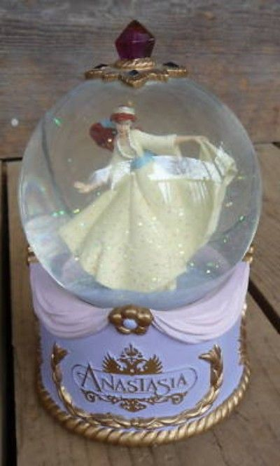 1997 Anastasia Disney Musical Snow Globe Very Nice (06/09/2010)
