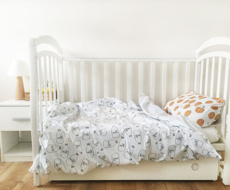Baby Bedding - Nursery Bedding Set - Black Milk Bedding - Baby Bedding Crib - Unique Bed Clothing - Handmade Bedding Set - Black And White by KarambaKids on Etsy