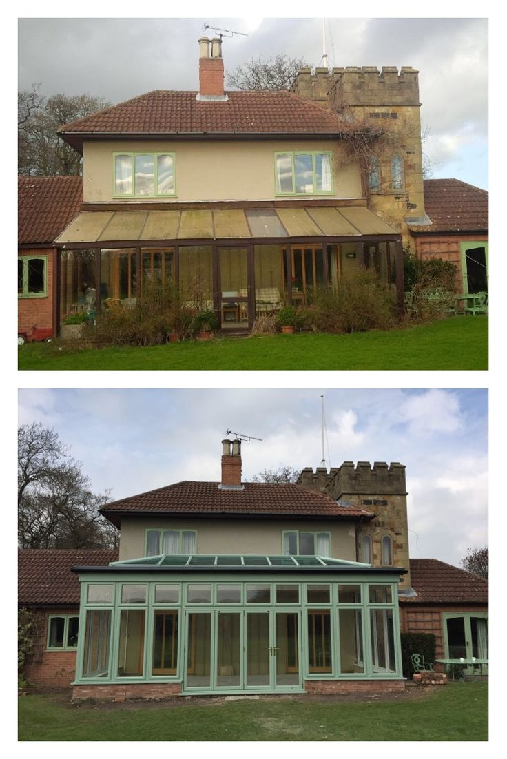 Conservatories concept windows and conservatories essex - Before After Beautiful Unique Chartwell Green Conservatory Installed By The Glazedale Team For