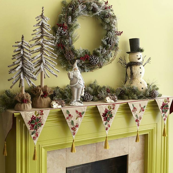 19 best images about mantel scarf on mantels