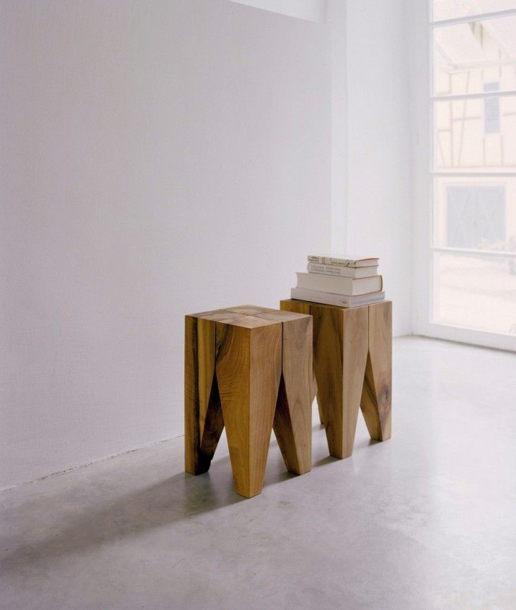 ST04 Backenzahn Bedside Table from e15   Remodelista