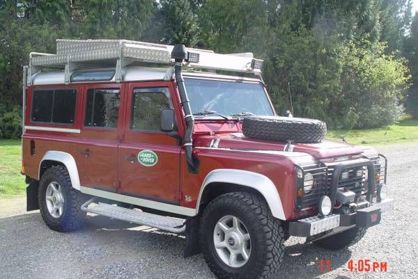 1998 Land Rover Defender 110 for sale, Craigslist Vancouver BC