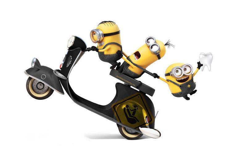 ¡Bello Migos! Un dentista para tu! me want banana  Comenta si entendiste el idioma de los Minions...