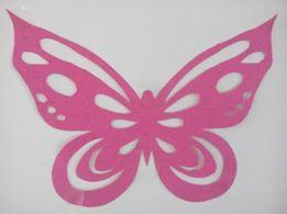 motýl šablona