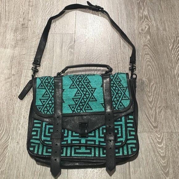 super rare Proenza Schouler Aztec ps1 bag rare Proenza ps1 Aztec bag. In amazing condition!!! Proenza Schouler Bags