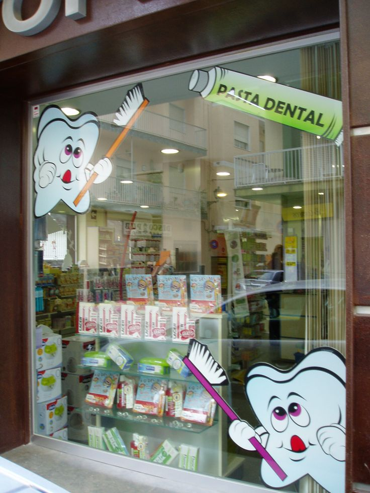 Escaparate higiene dental farmacia escaparates farmacia - Articulos para decoracion escaparates ...
