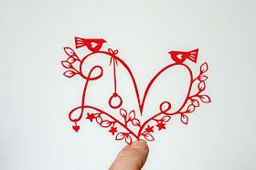 CraftyLou: Sneaky peek Thursday - LOVE papercut