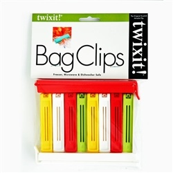 $6.49  The ultimate anything clip!  Linden Sweden twixit! bag clips keep bags sealed tightly so food stays fresher longer.