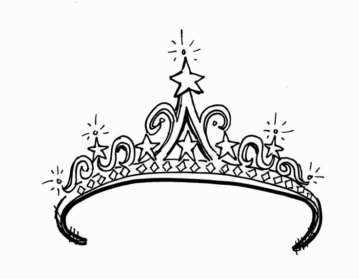 Crown Coloring Sheet Coloring Pages Coloring Pages For Girls Crown Drawing