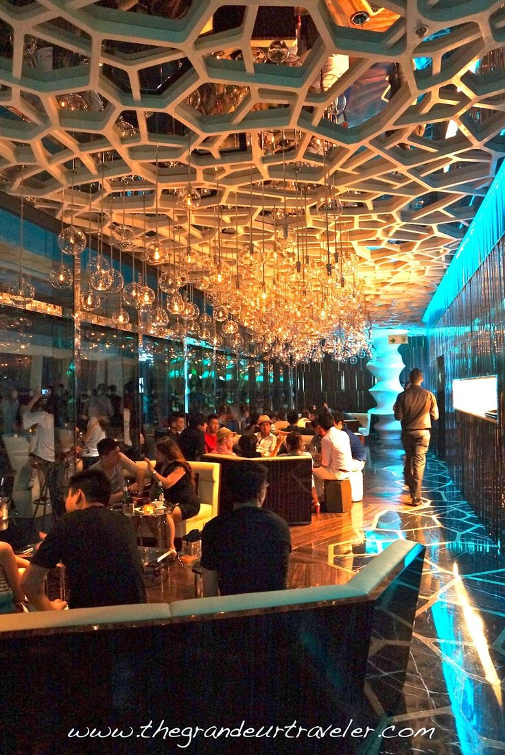 Ceiling restuarant - Grandeur Traveler: Ozone: Sipping Cocktails at the Highest Bar in ...