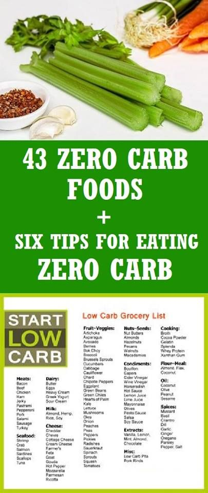 Here are 43 zero carb foods and six tips for eating zero carb
