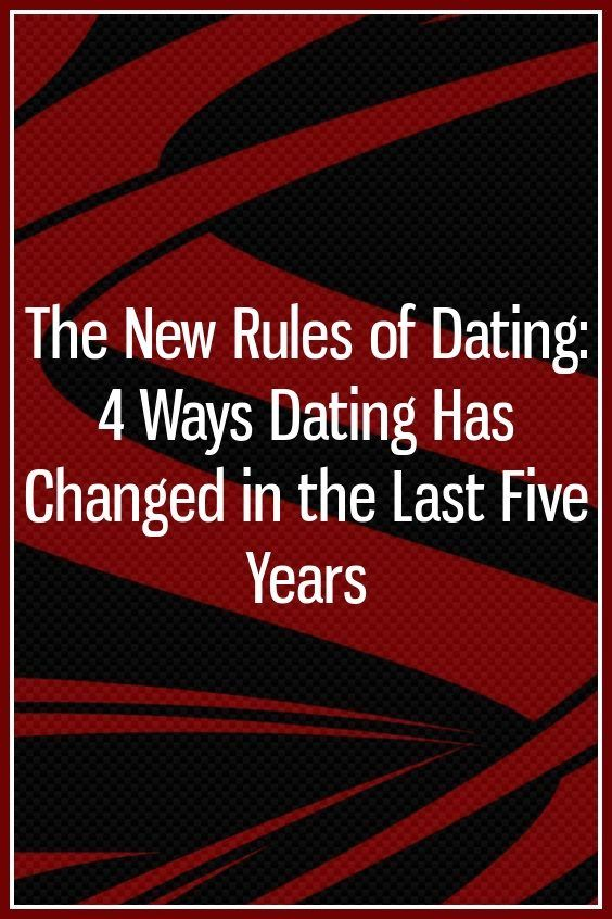 five dating rules