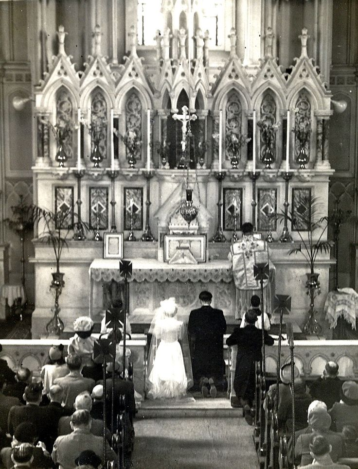 1963 Wedding in what is now the