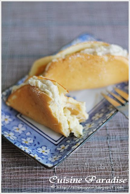 Cuisine Paradise | Singapore Food Blog | Recipes, Reviews And Travel: [Durian Feast] Durian Pancake vs Durian Steamed Cake vs Steamed Durian...
