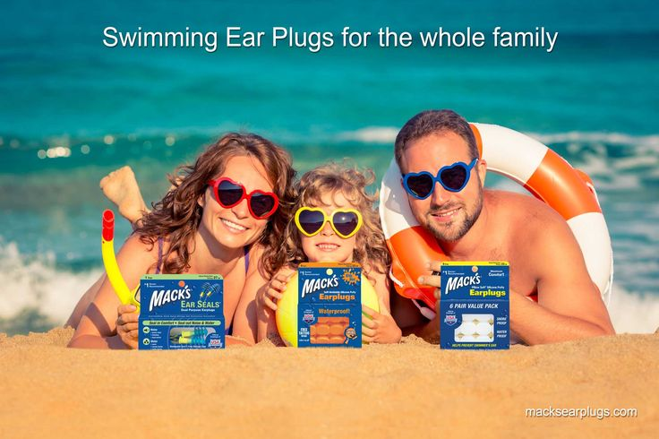 Swimming Ear Plugs for the whole family.