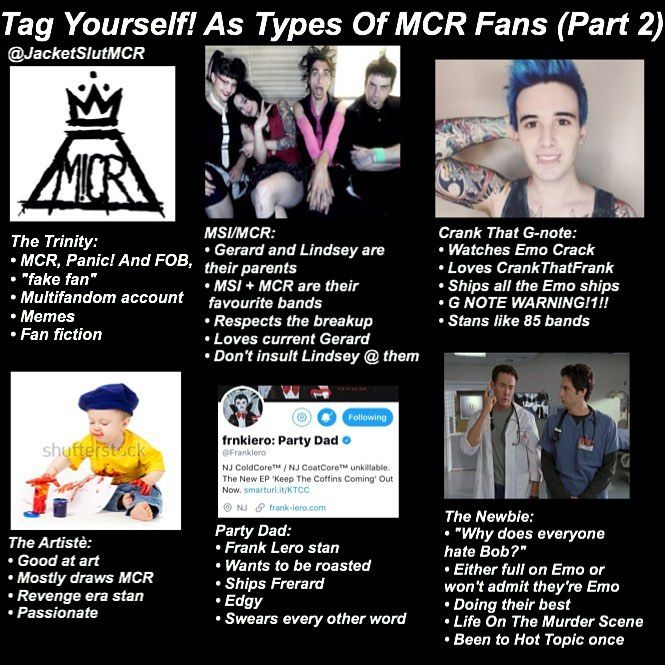 The Trinity and MSI/MCR  Who are MSI though   ? Am I missing