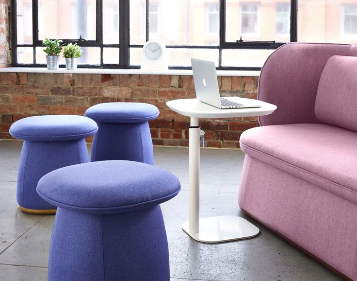 Add a pop of colour to your interiors with the Bebop Stool. Extra cushioned for comfort with a generous seat, these stools are great for breakout spaces and office environments