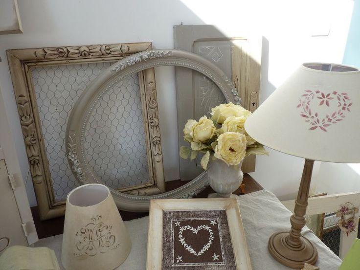 objet repeint st phanie et l onore d co peintures el onore d co el onore d co verven. Black Bedroom Furniture Sets. Home Design Ideas