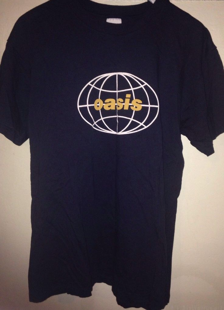 OASIS All Around the World US tour shirt vintage Blur Pulp Suede | eBay