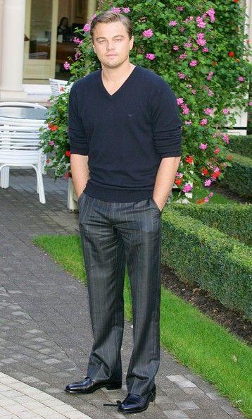 Leonardo DiCaprio Slacks - Leonardo DiCaprio Clothes Looks - StyleBistro