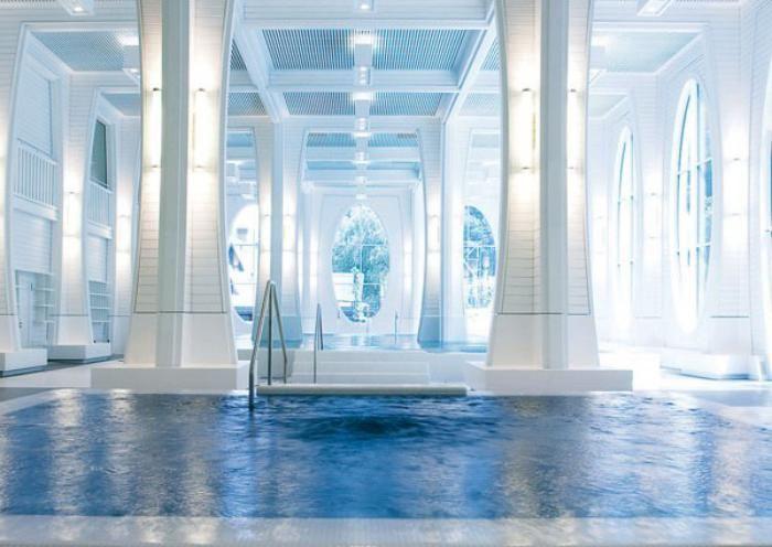 Les 168 meilleures images du tableau architecture sur for Thermes de spa