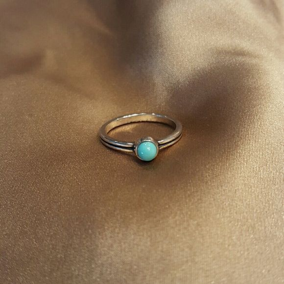 James Avery Mini Turquoise Ring James Avery, Mini Turquoise Ring, Sterling Silver, size 5, brand new James Avery Jewelry Rings