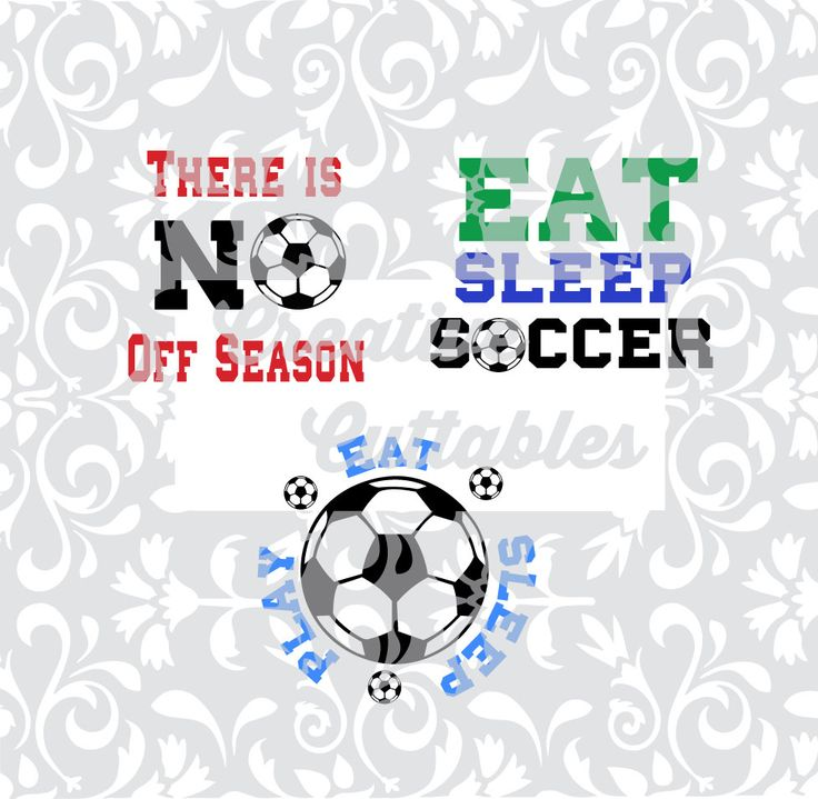 Soccer Sayings  for use with Silhouette or other craft cutters (.svg/.dxf/.eps) - pinned by pin4etsy.com