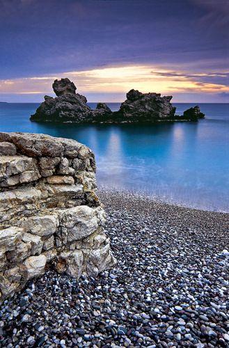 ✯ Kaladi Beach - Kithira, Greece #wimco #europe #travel http://www.panoramio.com/photo/6203600