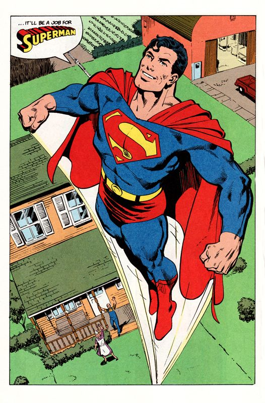 Superman by John Byrne (one of my all time fav artists)