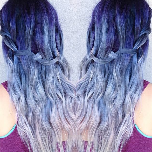 TRANSFORMATION: Ice/Blue Root to White Colormelt - Career - Modern Salon
