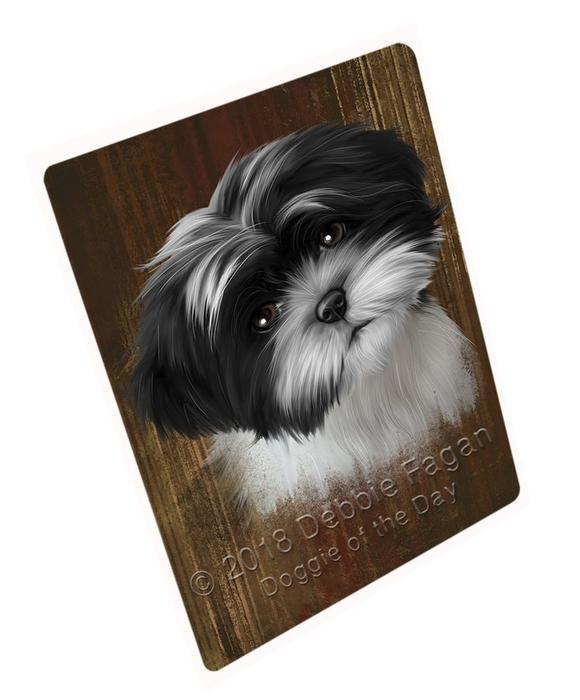 Rustic Shih Tzu Dog Blanket Blnkt61824 Blanket Dog Shihtzu Rustic Shih Tzu Dog Shih Tzu Dog Blanket