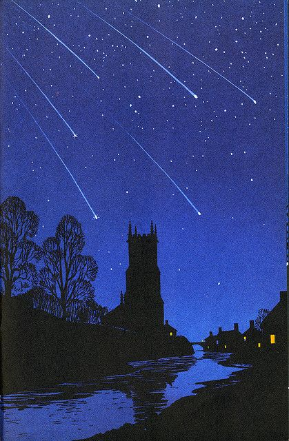 The Night Sky, a Ladybird Book, published in 1965 with illustrations by Robert Ayton.