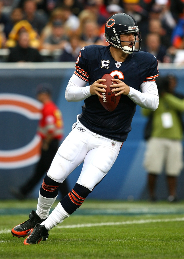 Jay Cutler, Chicago Bears   @Evan Sharp m Frankcom Jenkins   @Summer Olsen Olsen Olsen Brown