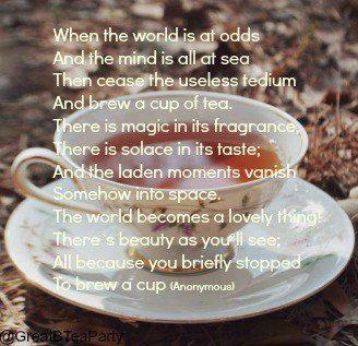 Image result for tea poems
