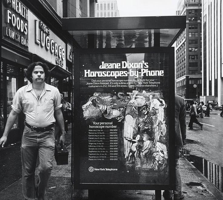 "kafkasapartment: ""Horoscopes by Phone,1978. John Gutmann. Gelatin silver print """
