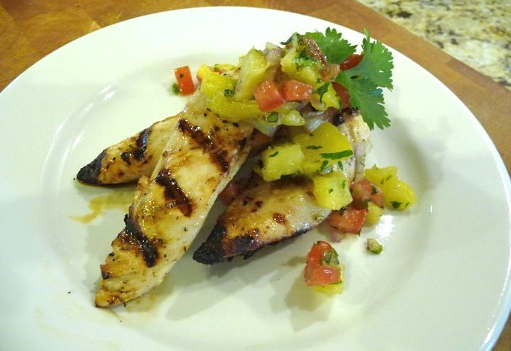 Grilled Pineapple Chicken (GF)