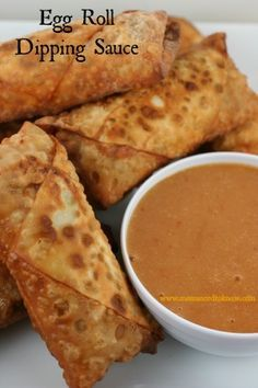 This egg roll dipping sauce recipe is a homemade version of Chinese Duck Sauce, but tastes better than the stuff that you get in the packets at restaurants!