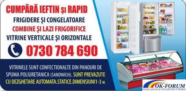 Vitrine frigorifice | Ok-forum.ro - Anunturi gratuite de mica publicitate in Romania. | Frigidere Congelatoare | Pitesti | Arges | Romania