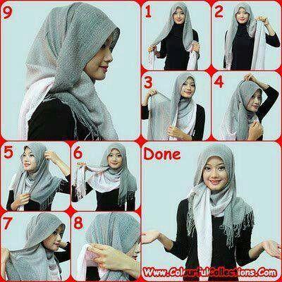 Tutorial hijab #shawl