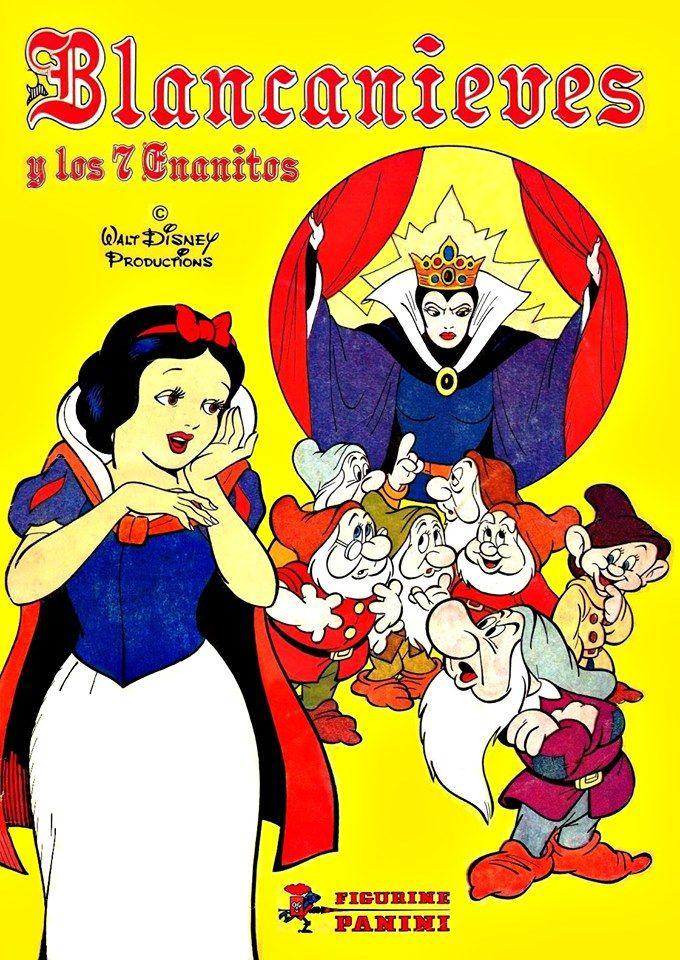 Blancanieves Y Los 7 Enanitos Cromos Blancanieves 7 Enanos