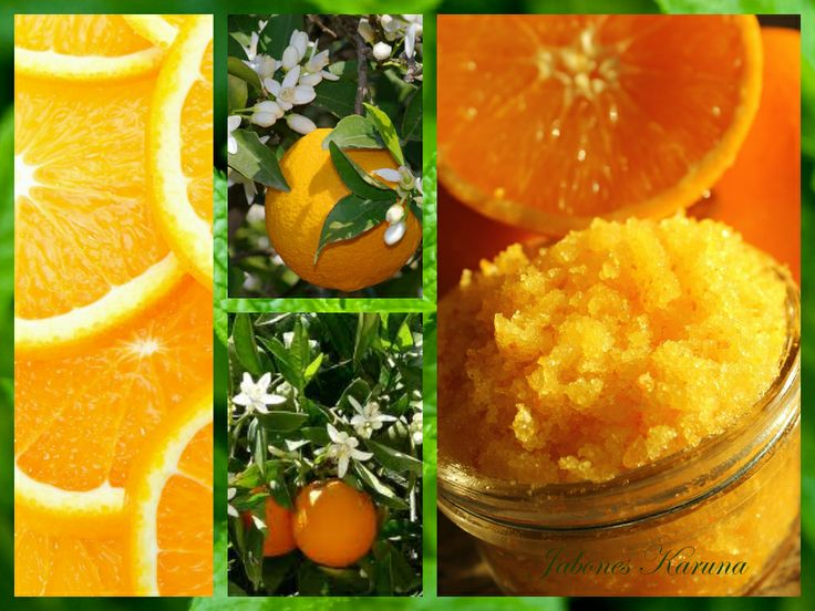 Exfoliante corporal de sal Epsom con naranja. Epsom salts body scrub with orange