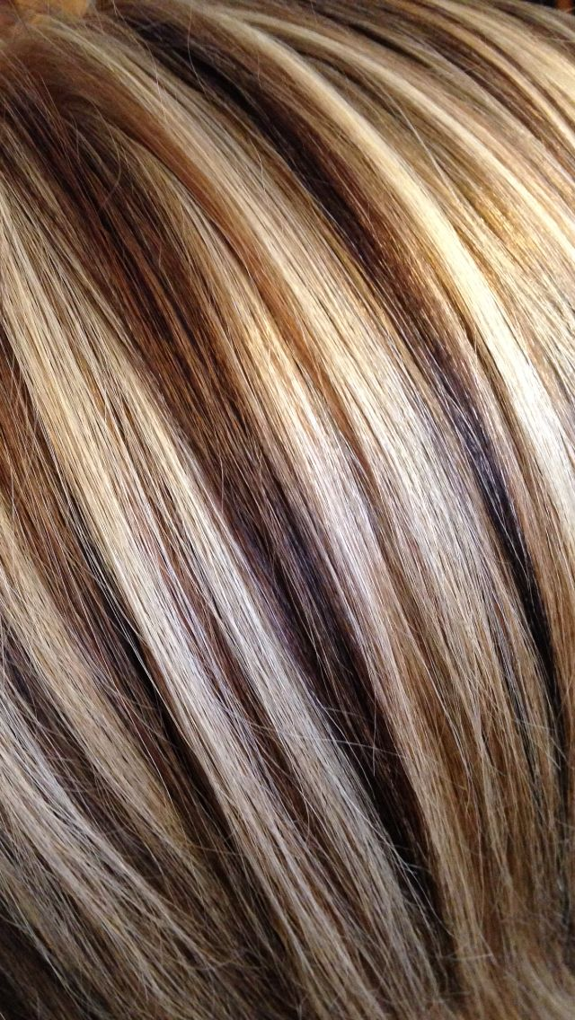 The 25 best hair highlights and lowlights ideas on pinterest 3 color hair foils for contrast blonde hair brown pmusecretfo Image collections