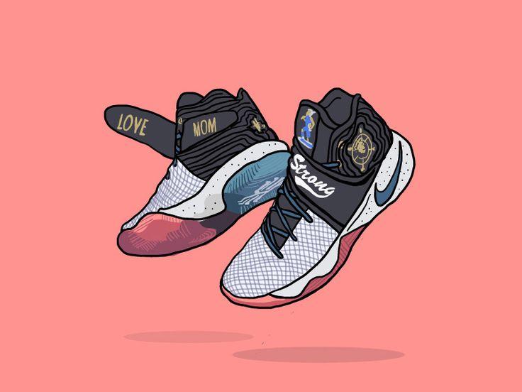 Nike Kyrie 2 Doernbecher Byandygrass