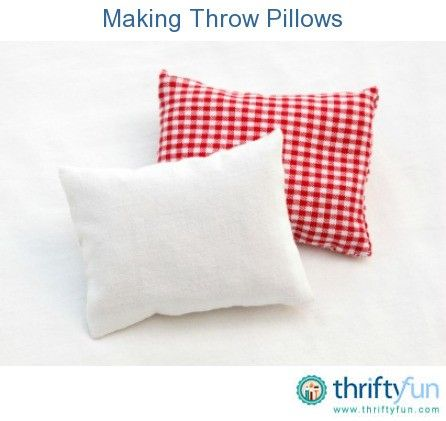 This is a guide about making throw pillows. Making your own throw pillows can save you money and allow your creativity and sense of design to take over.